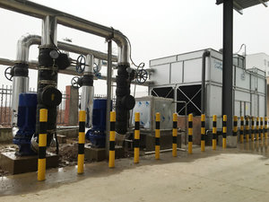 中频炉冷却系统